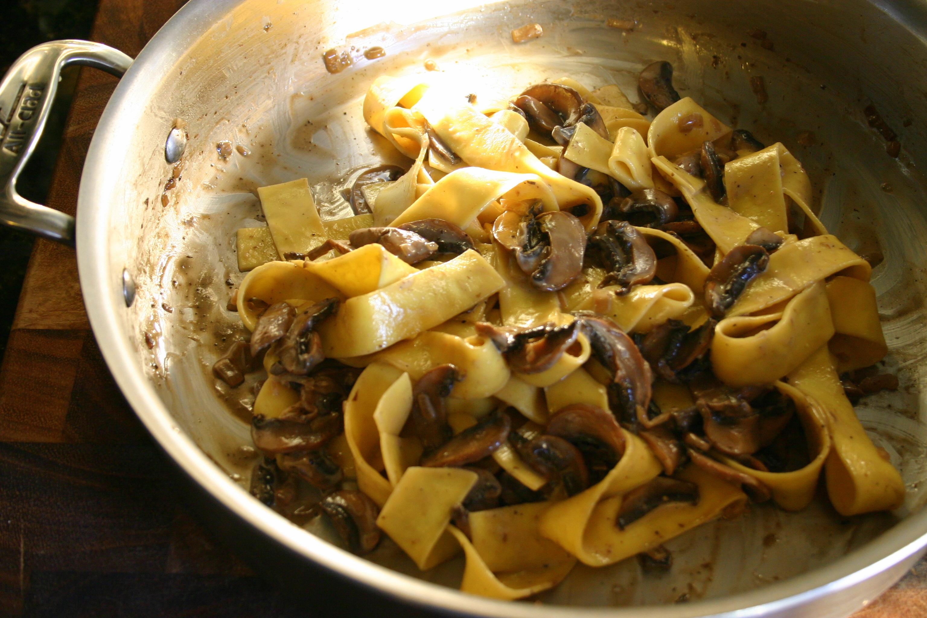 Mushroom Marsala Pasta | All Things Simple